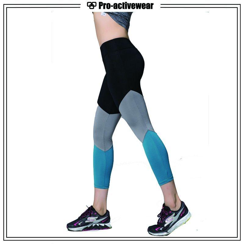 (Free Sample) OEM Custom Women Fitness Compression Workout Lycra Yoga Pants