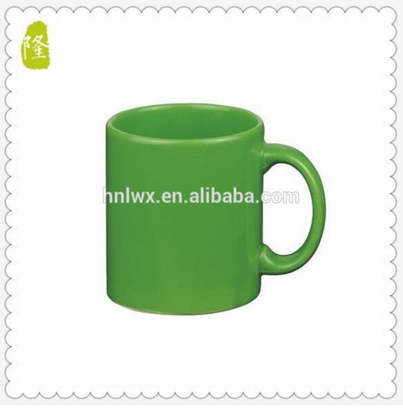 Wholesale 350ml 12oz Red Color Glazed Coffee Mug