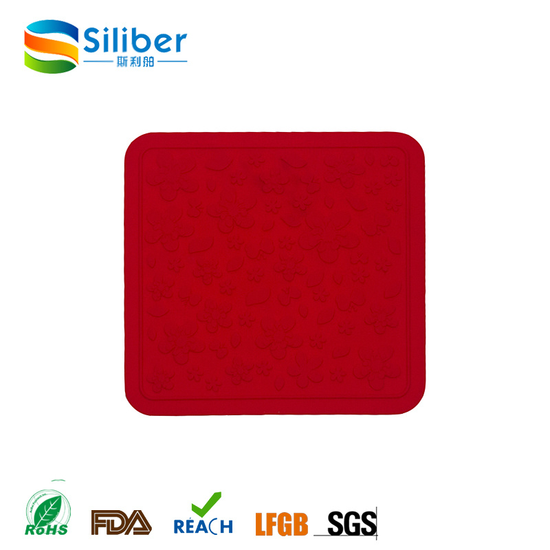 Silicone Washable Placemat Anti Scald Mat Silicone Heat Insulated Pad Dishes Mats Bowl Pads