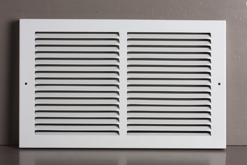 """Baseboard Return Air Grille with 1/3""""Fins"""