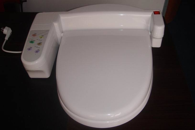 China automatic toilet seat ts583 china toilet seat toilet bidet - Automatic bidet toilet seat ...