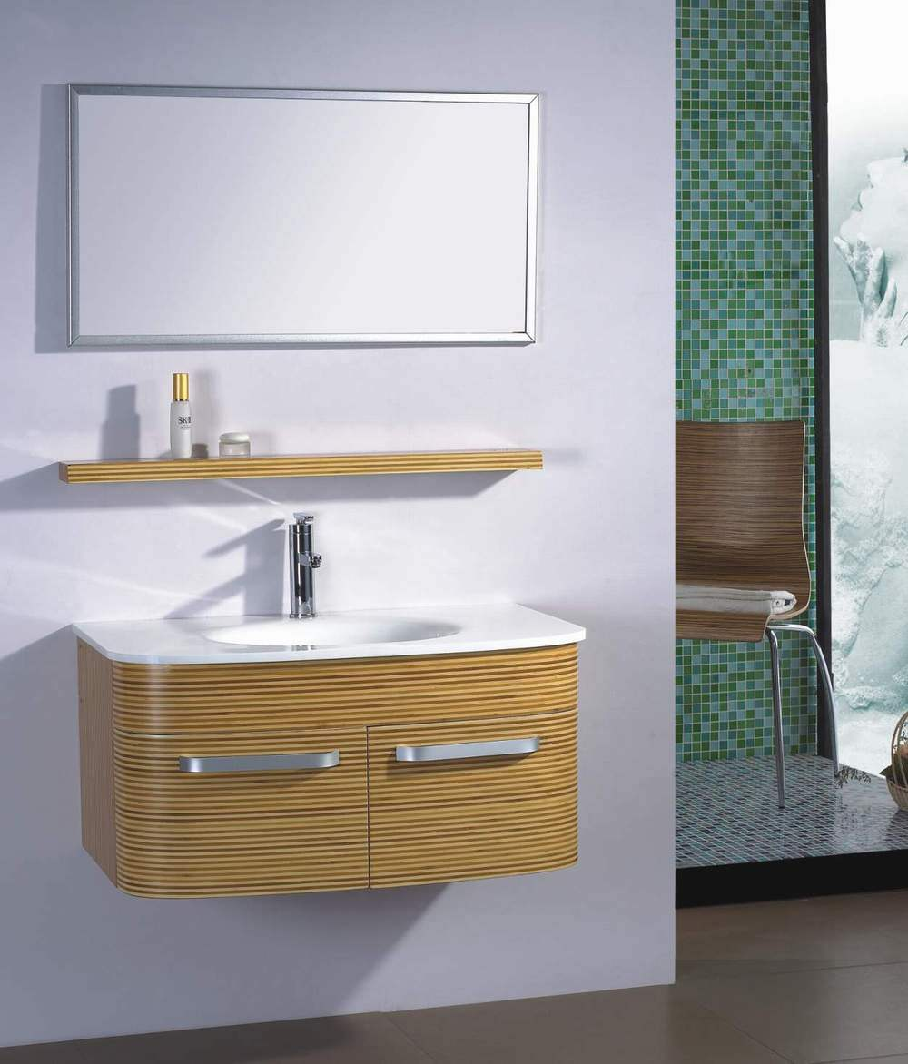 Bamboo Bathroom Cabinet: China Bamboo Bathroom Cabinet (GO-017)