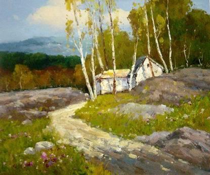 超写实风景油画欣赏