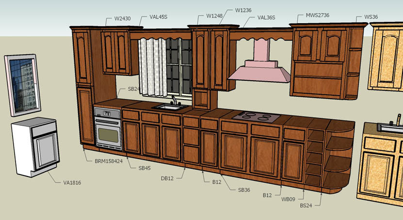 China kitchen cabinet layout quote china kitchen cabinet for Kitchen design quotation