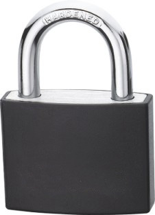 Covered Aluminum Padlock - K2402