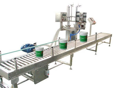 Paint Filling Packing Machine (ZY500)
