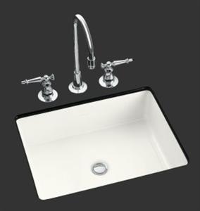Ceramic Rectangle Undermount Vitreous Sink (1637)