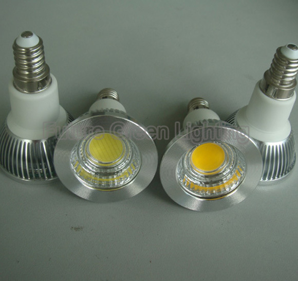 Dimmable LED Spotlight COB 5W 600lm GU10/MR16/JDR
