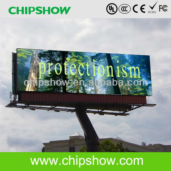 Chipshow P26.66 Outdoor Advertising Video LED Digital Billboard