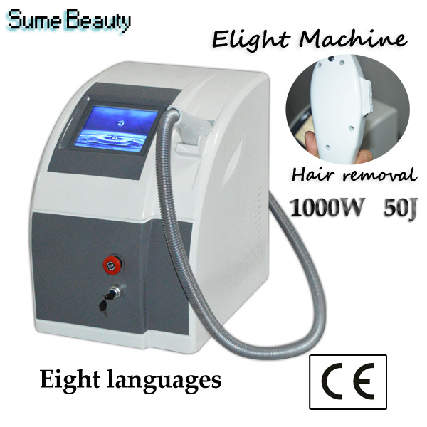 IPL Shr Hair Removal Skin Rejuvenation Elight Beauty Machine