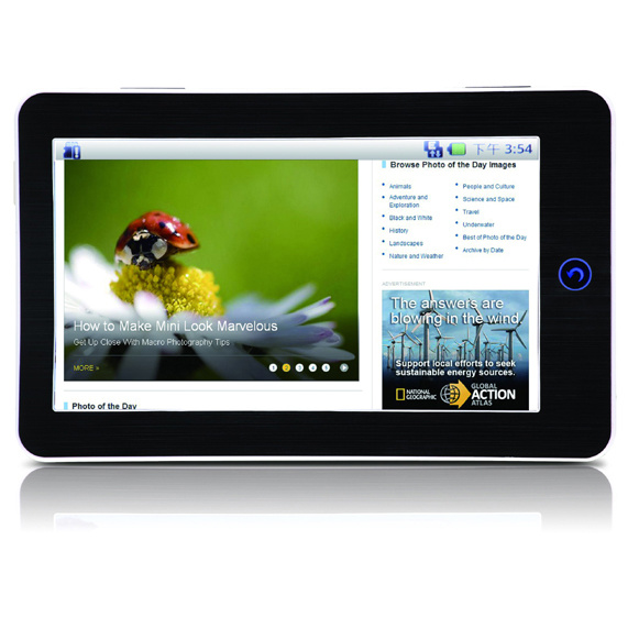 Tablet PC, MID, Google Android 2.2 (HTP-706R)