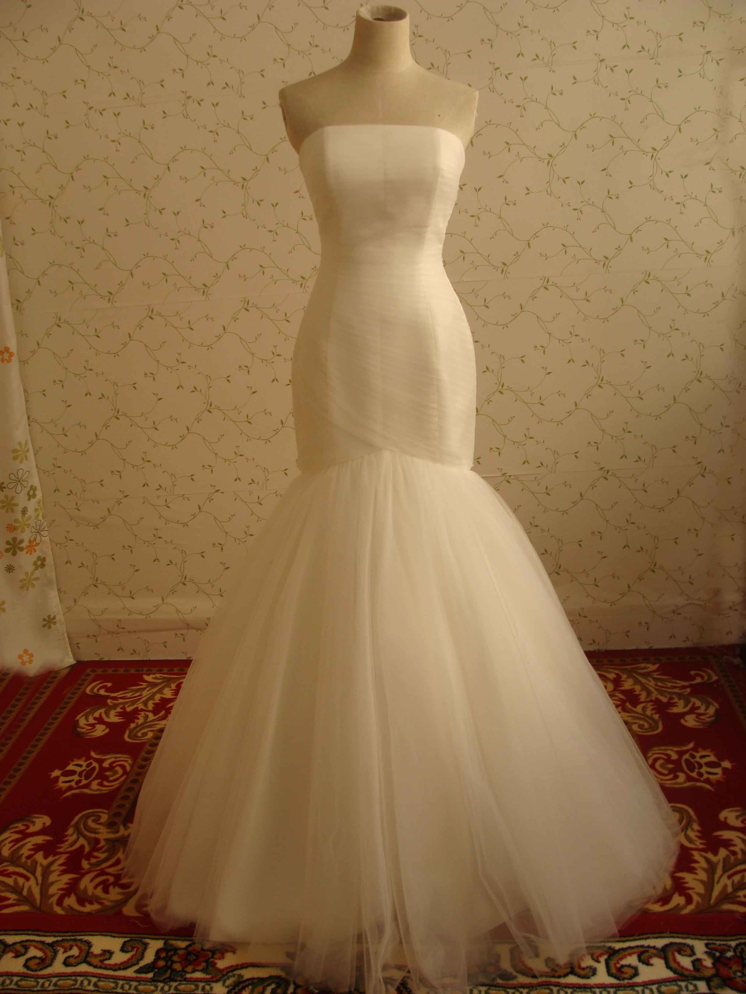 A Fishtail Wedding Dress : China real fishtail wedding dress rd