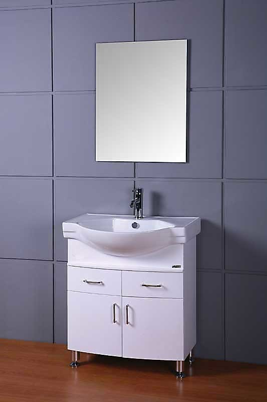 China Small White Bathroom Cabinet China Pvc Bathroom