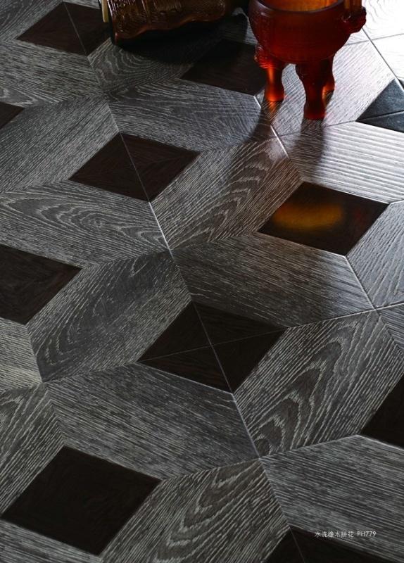 Parquet Style Laminate Flooring (416)