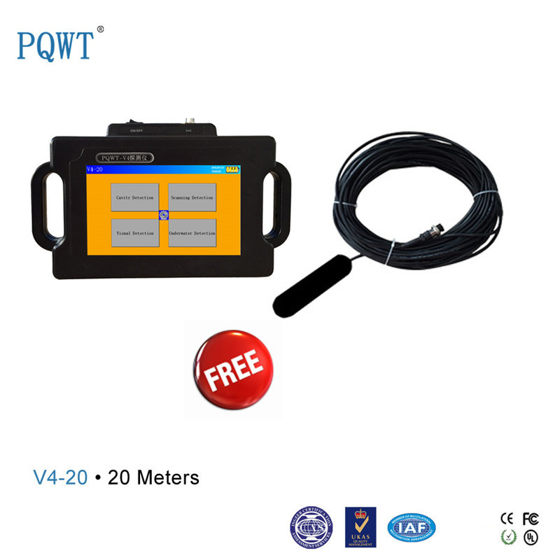 V4-20 Automatic Underground Cave Detector Multifunction Gold Metal Detector