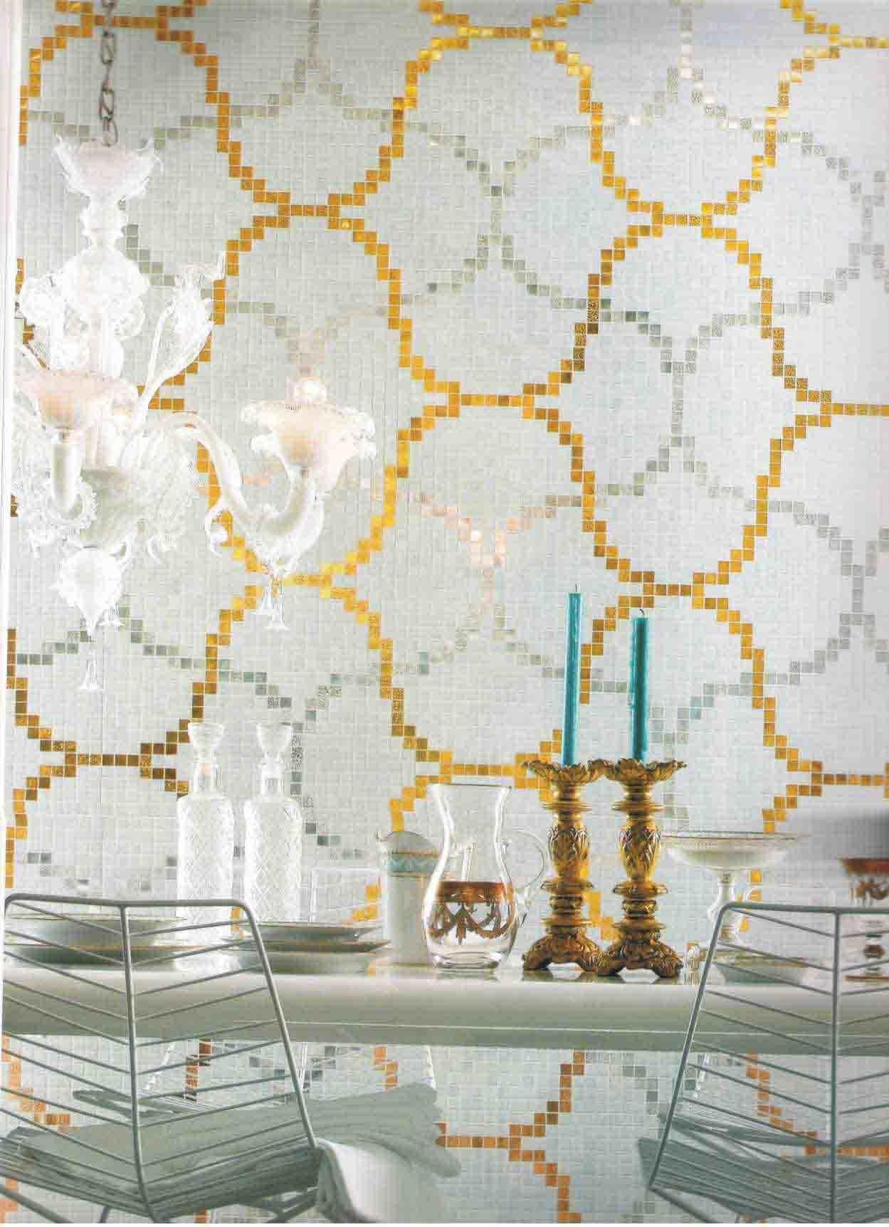 China Pattern Ceramic Mosaic Tile Rs Mjt801j01 China