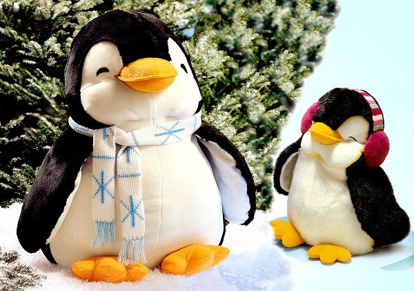 With Toys Penguin Tots : Stuffed toys penguins