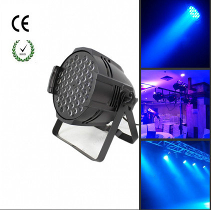 54*3W RGBW LED Aluminum PAR Light for Indoor Stage