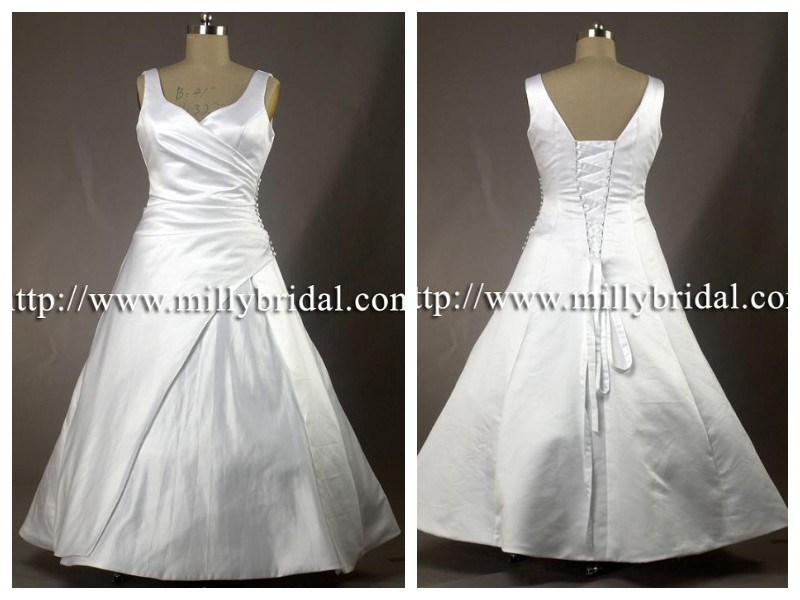 Plus Size Wedding DressesBridal GownsWedding Gowns WG0971