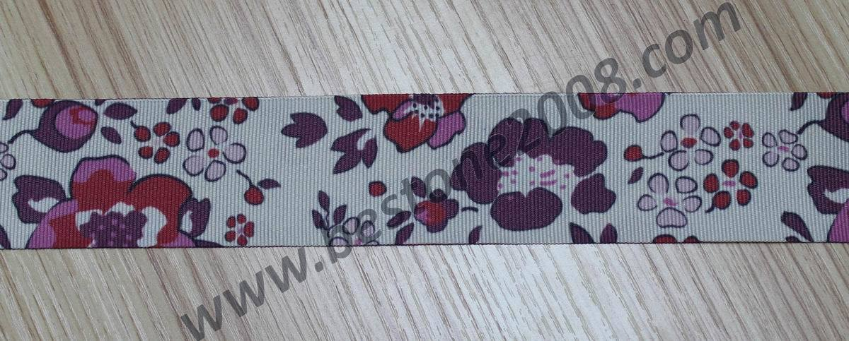 High Quality Polyester Webbing with Printing for Garment#1312-1