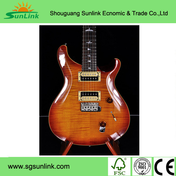 Soild Rosswood Body Guitar with Top Quality