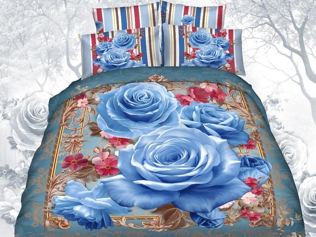 3D Digital Printing 100% Cotton Bedding Sets