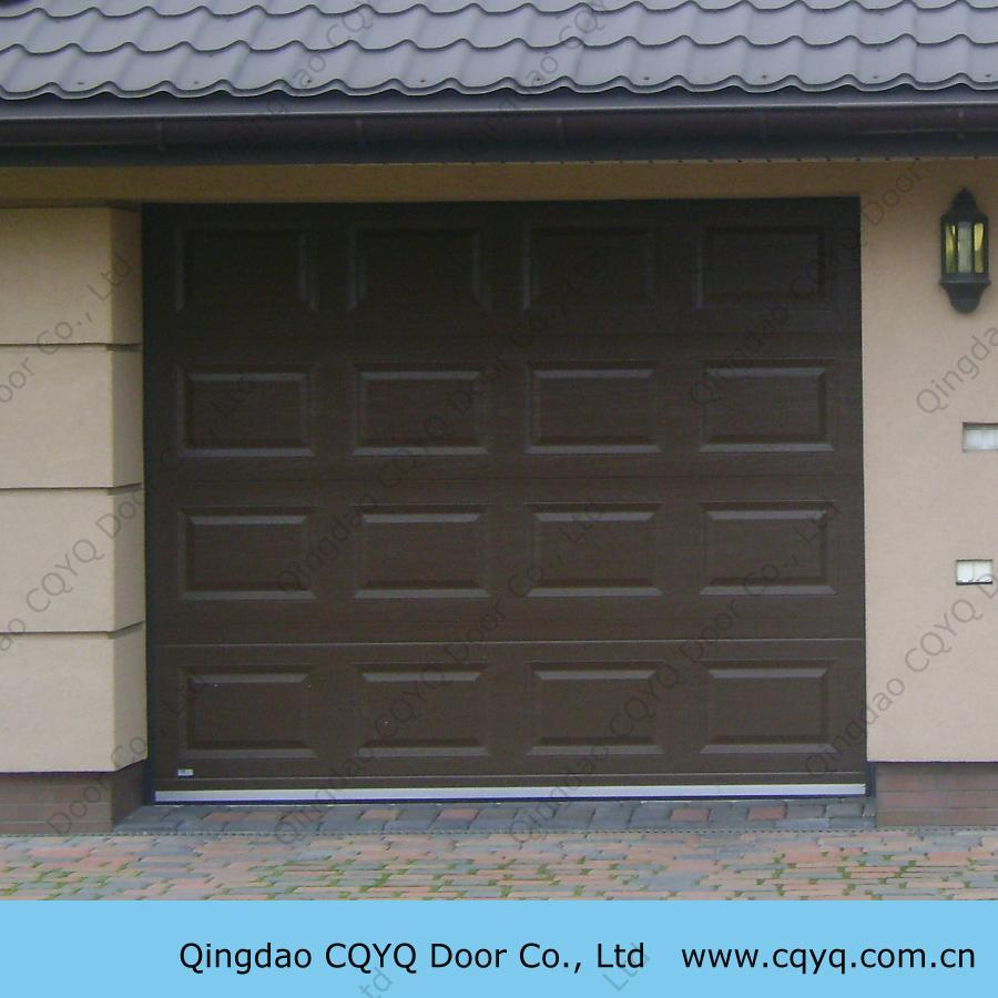 China automatic overhead garage doors