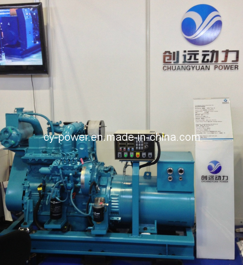 Sdec Sc4h/7h Series Marine Generator, From 40 to 140kw