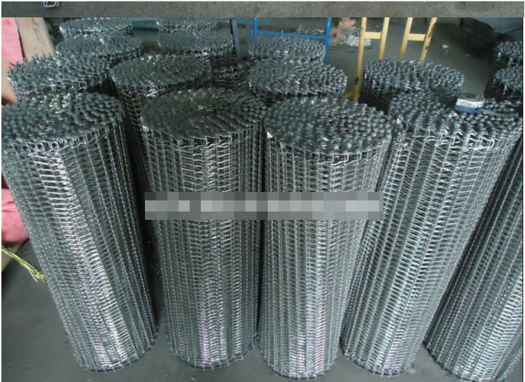 Wire Mesh Belt for Cooling Bread, Shrimp, Ice Cream