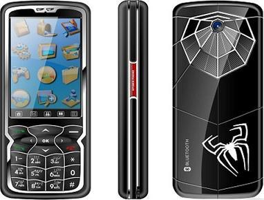 Dual SIM Dual Standby Spider Man Mobile Phone