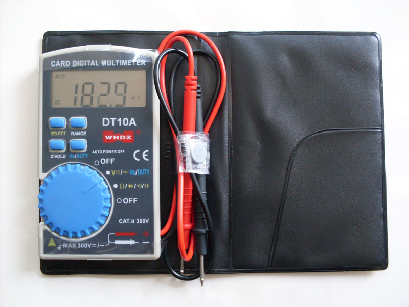Pocket Clamp Meter : China diode test continuity checking transistor hfe