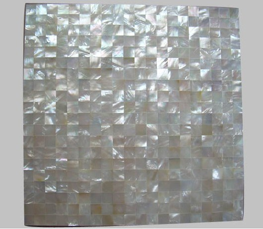 China Natural White Mother Of Pearl Shell Mosaic Tile