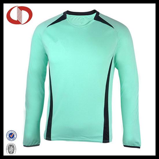 Long Sleeve Custom Made Mens Soccer Jersey