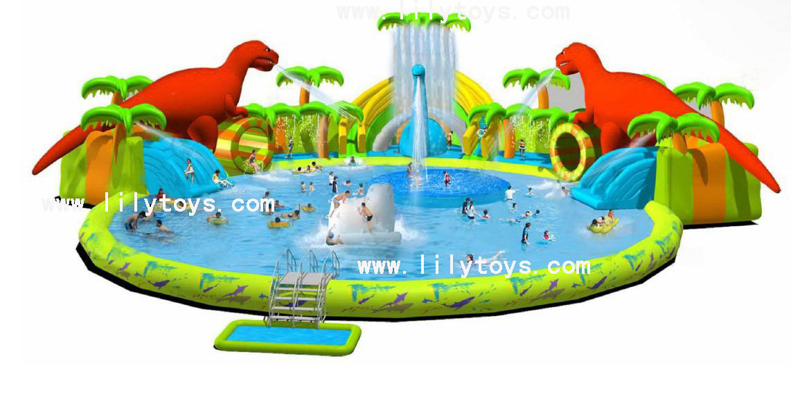China Inflatable Swimming Pool And Slide Inflatable Water Park Jolin2020 China Inflatable