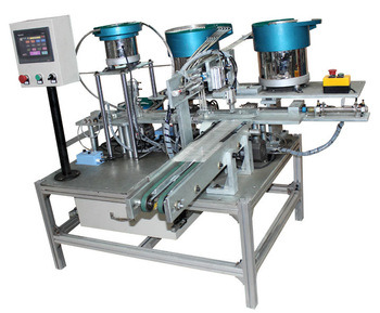 Automastic Assembly Machine for Plastic Cage