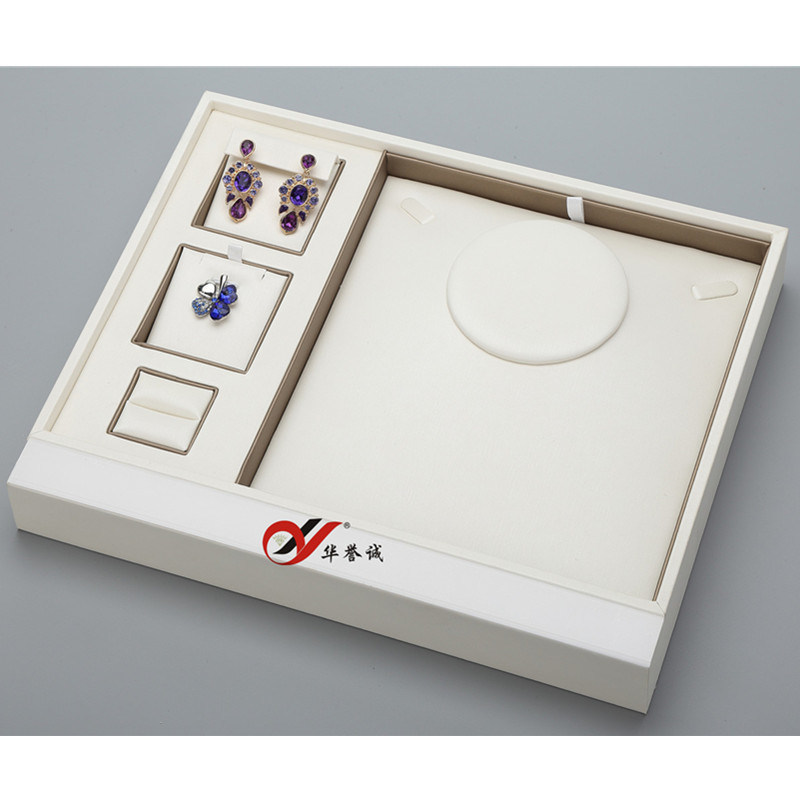 Multifunction Jewelry Display Tray for Pendant and Ring