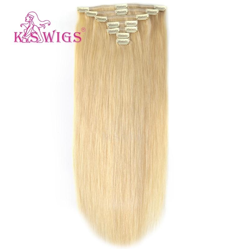 European 100% Virgin Remy Human Clip in Hair