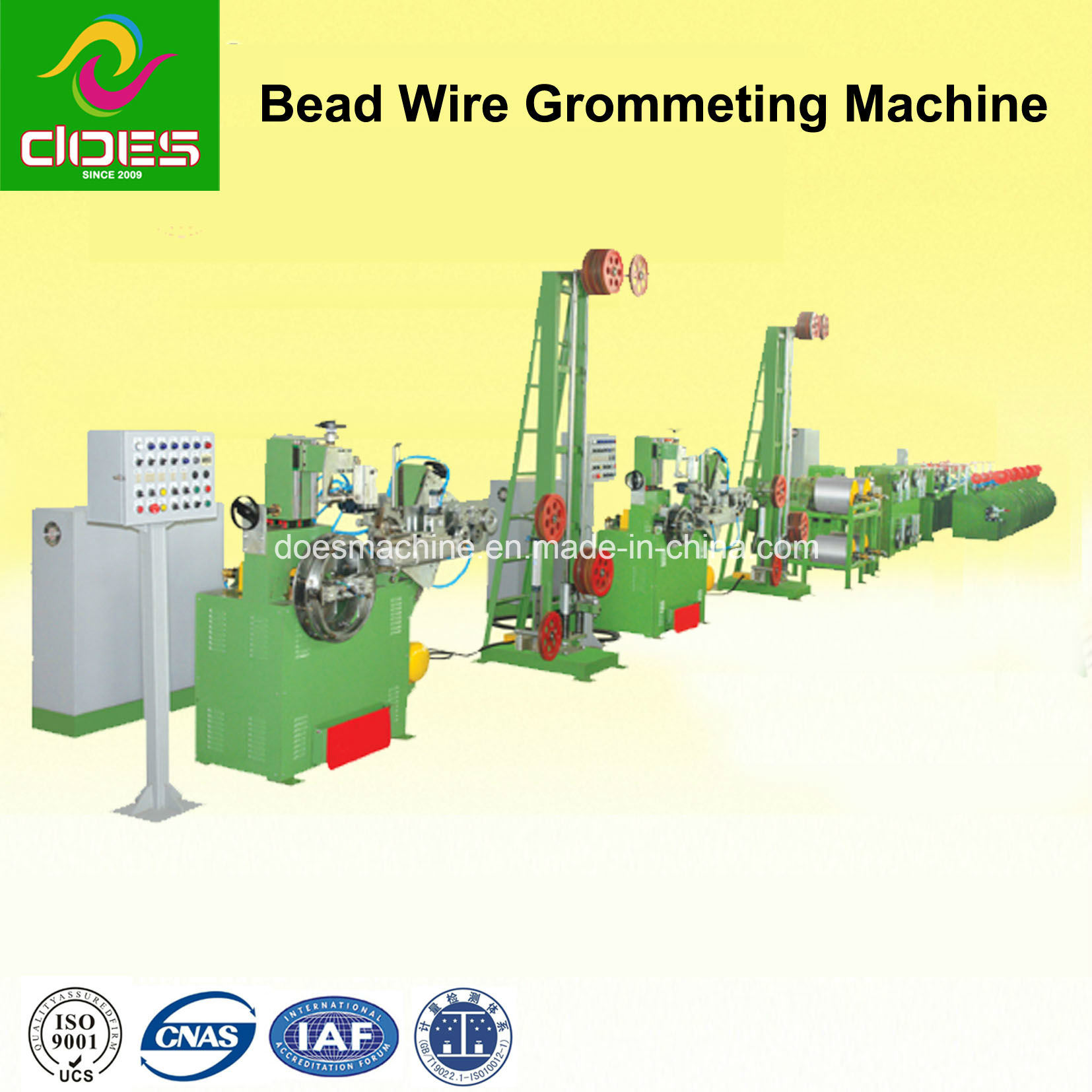 Bead Wire Grommeting Production Line for Rubber Tire/Tyre Machine