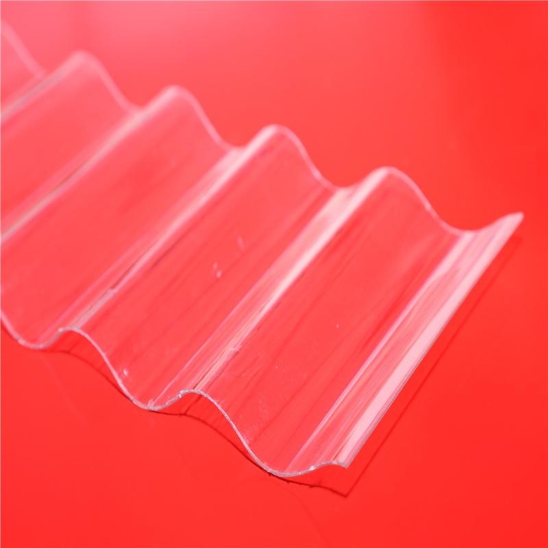 Round Wave Polycarbonate Corrugated Sheet