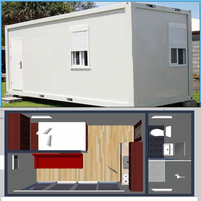 Modular Fast Assemble Container House for Restaurant or Hotel