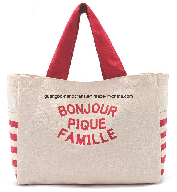Custom Carrier Promotion Shopping Bag Canvas Tote Bag Cotton Bag