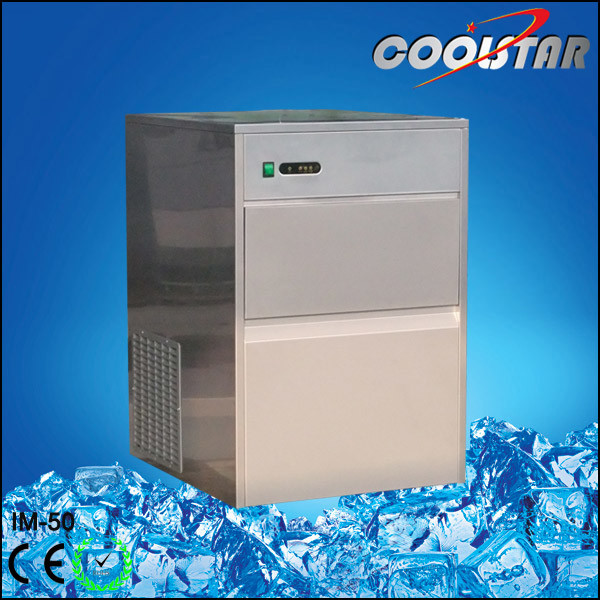 50kg High Output Ice Cube Maker with Bullet Type (IM-50)