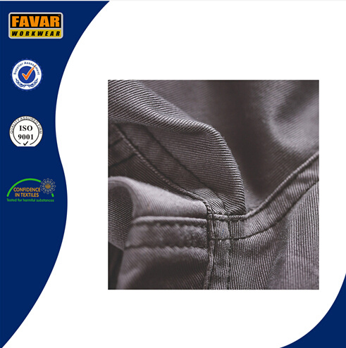 Cordura Poly Cotton Durable Work Trousers Grey Construction Work Pants