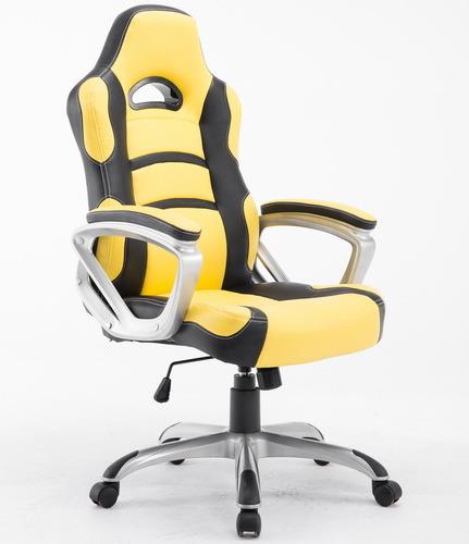 fashion Racing Chair Birght Yellow Race Chair