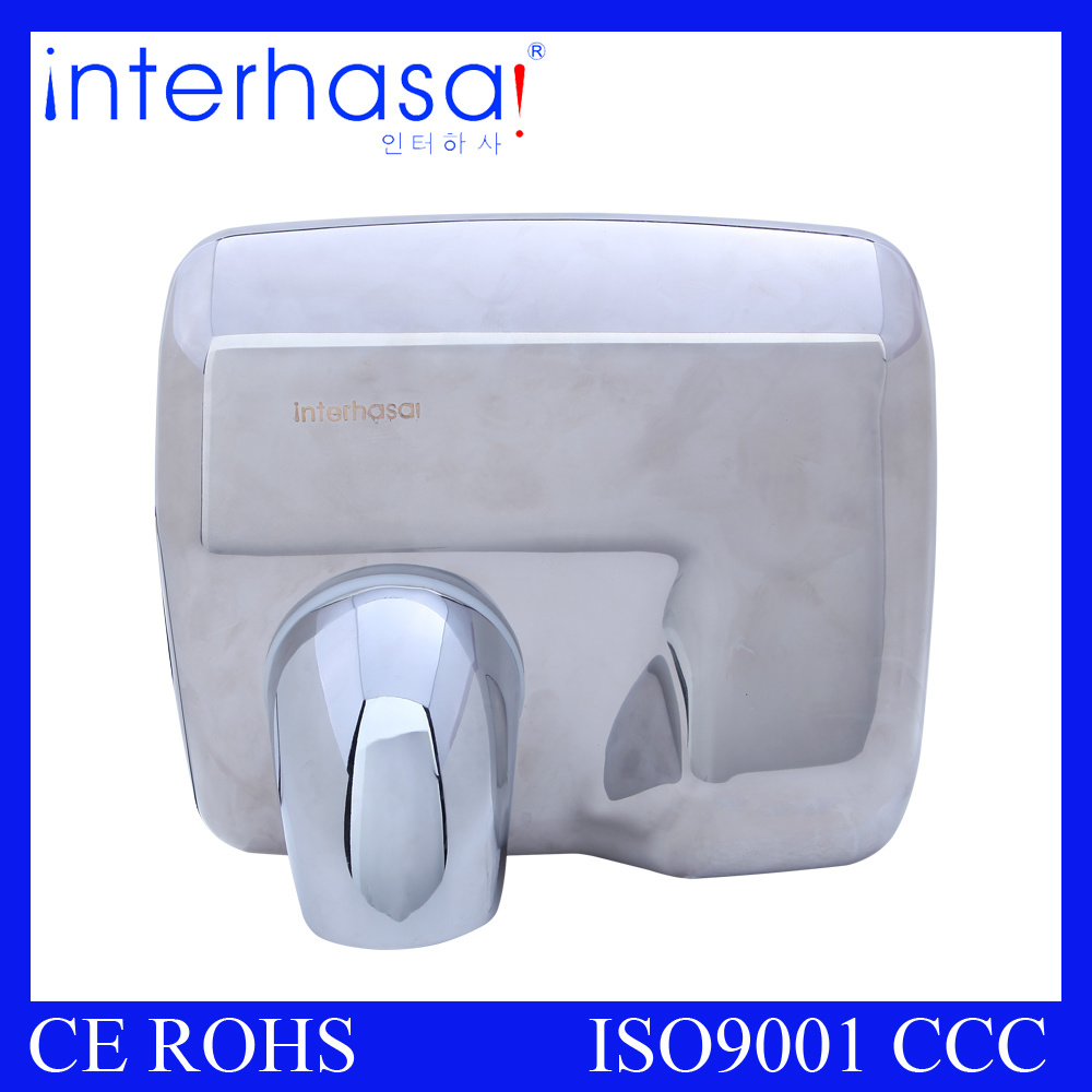 304 Stailess Steel Automatic Hotel Supermarket Toilet Sensor Hand Dryer