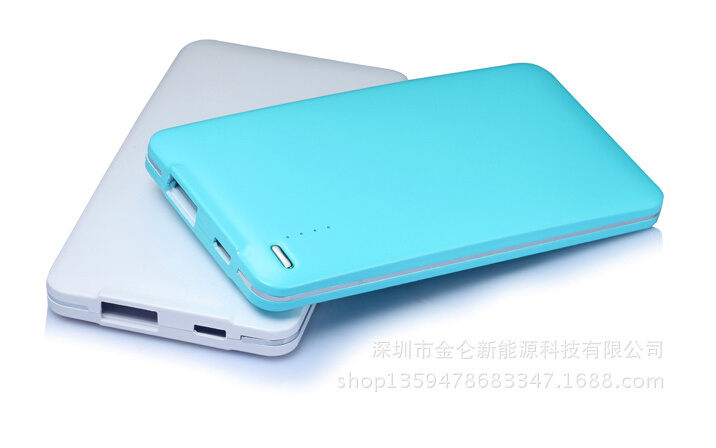 Power Bank 5000mAh Portable Mobile Power Bank of Li-Polymer