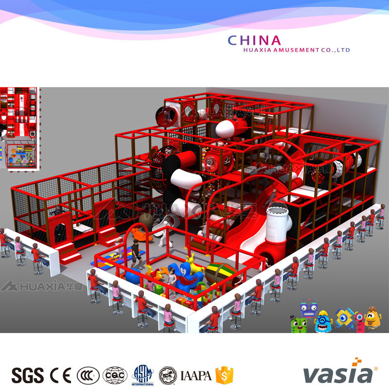 ASTM Certificated Soft Indoor Playground Children Game with Sand Pit