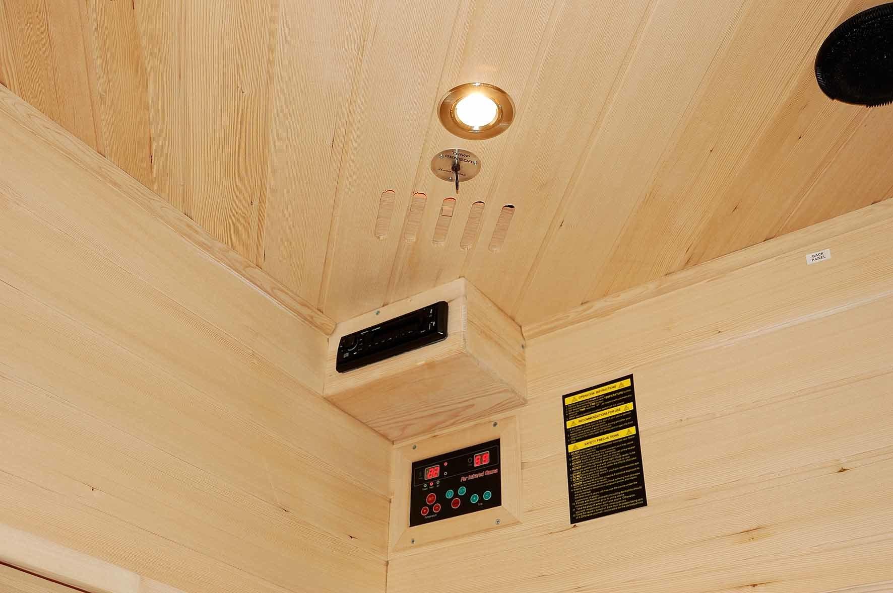 2016 Infrared Sauna Room Traditional Sauna for 3-4 People (SEK-C3C)