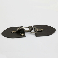 PU Leather Metal Buckles in Black Nickel Color