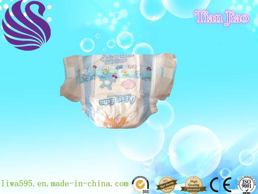 OEM Quick Absorbent Disposable Baby Nappy with Cheap Price